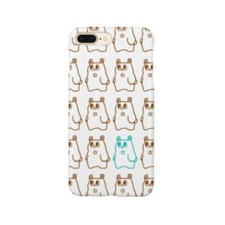 ホシノワグマ スマホケース Smartphone cases