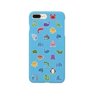 🐟 絵文字 おさかな天国 🐳 Smartphone cases