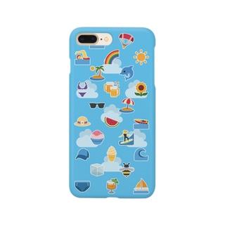 🍉 絵文字 エンドレス サマー 🏖 Smartphone cases