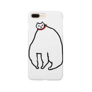 めっちゃ肥えた猫 Smartphone cases