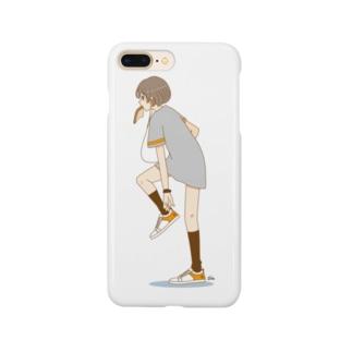パン食い女子 Smartphone cases