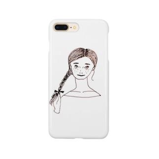 自信に満ち溢れた女の子 Smartphone cases