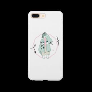 古着女子オリジナルグッズ Smartphone cases