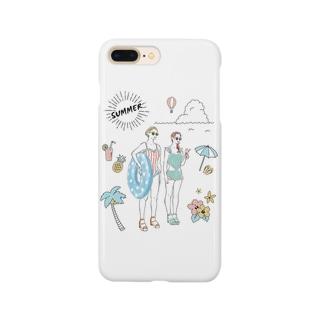 水着のチャンネー Smartphone cases