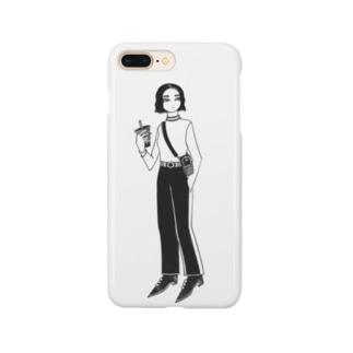 『タピオカ』 Smartphone cases