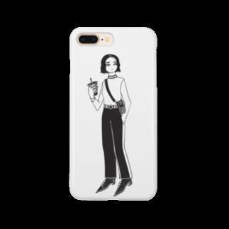 AOI MGの『タピオカ』 Smartphone cases