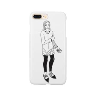 『待ち合わせ』 Smartphone cases