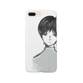虚ろ目君 Smartphone cases