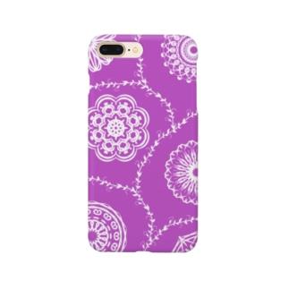 オリエンタル・パープル Smartphone cases