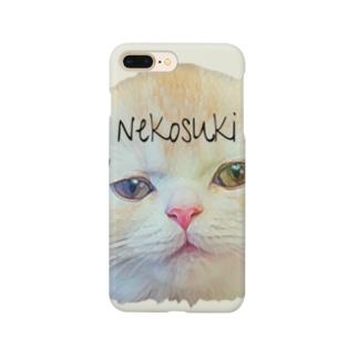 くるおしい顔面シリーズ Smartphone cases