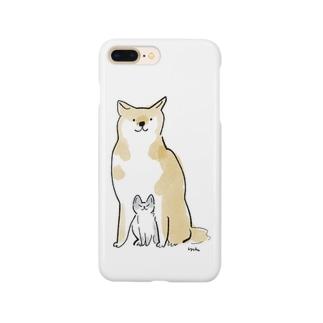 いぬこねこ Smartphone cases