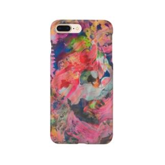 ぱちぱち Smartphone cases