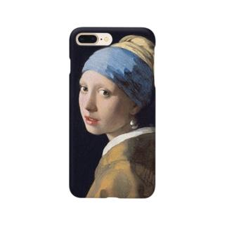 フェルメール / 真珠の耳飾りの少女(The Girl with a Pearl Earring 1665) Smartphone cases