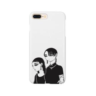 『デート』 Smartphone cases