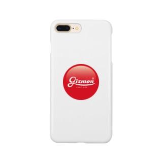 ギズモショップのGIZMON ロゴ Smartphone cases