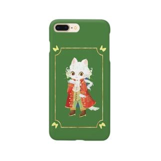モーツァルトっぽいねこ Smartphone cases