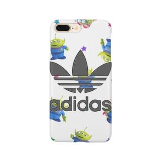 リトルグリーンメン Smartphone cases