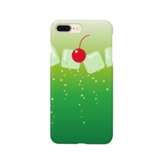 メロンソーダ気分 Smartphone cases
