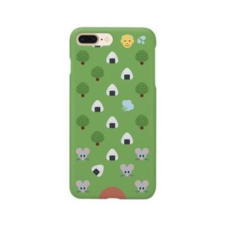 🍙 絵文字 おむすびころりん 🐭 Smartphone cases