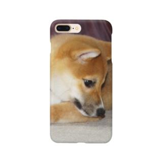 日本の犬:柴犬 Japanese dog: Shiba inu Smartphone cases