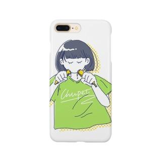 チューペットガール Smartphone cases