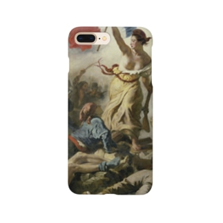 民衆を導く自由の女神 / ウジェーヌ・ドラクロワ(La Liberte guidant le peuple 1830) Smartphone cases