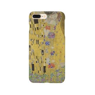 接吻 / グスタフ・クリムト(The Kiss 1908) Smartphone cases
