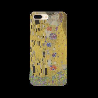 Art Baseの接吻 / グスタフ・クリムト(The Kiss 1908) Smartphone cases