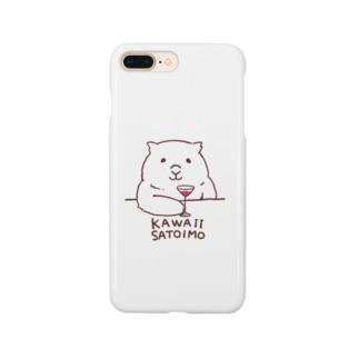Shudow Houseのウォンバット(kawaii satoimo) Smartphone Case