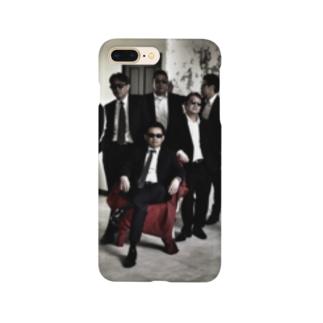幹部棒立ちセピア色 Smartphone cases