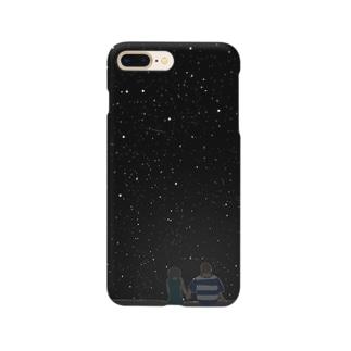 夏ノ夜二君ヲ想ウ Smartphone cases
