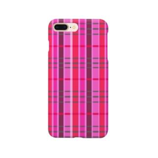チェック 要チェックや~! さりげない Ver. Smartphone cases