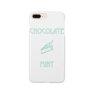 CHOCOLATE MINT Smartphone cases