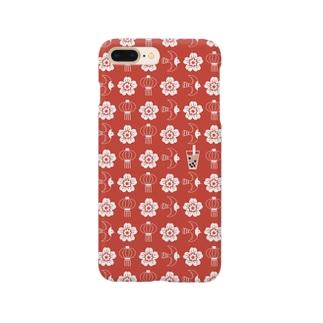 タピオカLOVE Smartphone cases