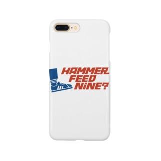 おこたしゃべりハンマーフィードナインiPhoneケース Smartphone cases
