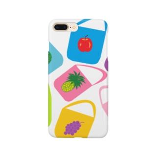 くだものバッグ Smartphone cases