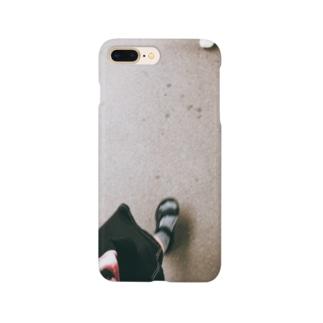リングをつけるための足 Smartphone cases