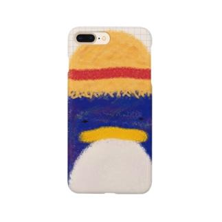 帽子屋シリーズ ペンギンの麦わら帽子 Smartphone Case