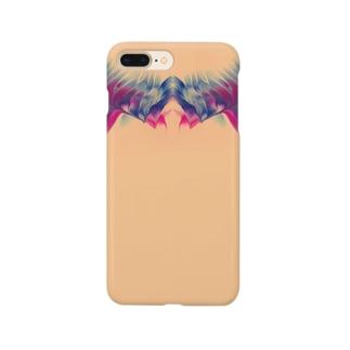 色彩の羽根 002 Smartphone cases