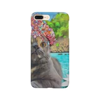 マーメイド仏陀@ももちゃん Smartphone cases