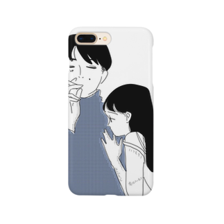 oyumi bedtownの抱いてよね Smartphone cases