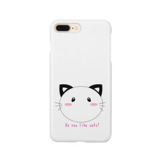 ウルウル猫 Smartphone cases