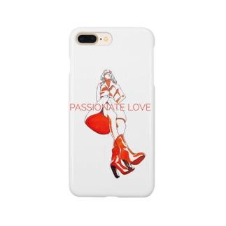 橙色 woman model Smartphone cases
