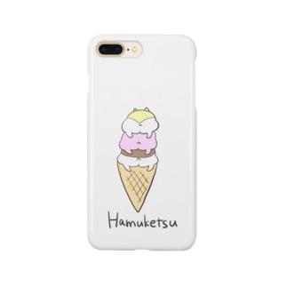ハムケツのアイスクリーム Smartphone cases
