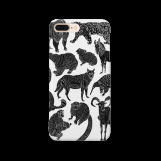 megumiillustrationのEndangered Species Smartphone cases