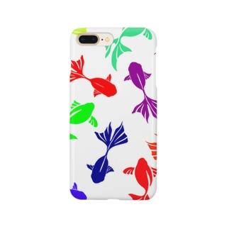 金魚-カラフル- Smartphone cases