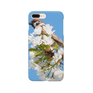 雀桜 Smartphone cases