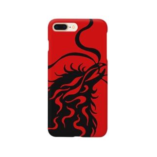 カラス(カラー) Smartphone cases