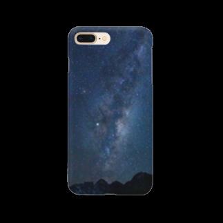 swatanabe photographyの南半球の天の川 Smartphone cases