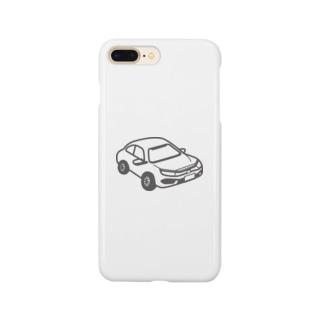 HONDA CIVIC SEDAN 風 Smartphone cases